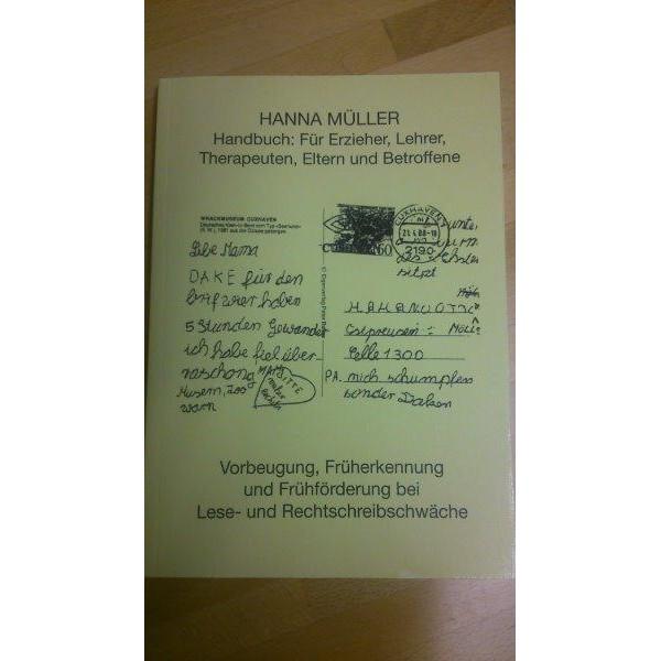 Handbuch bei Lese- u. Rechtschreibschwäche