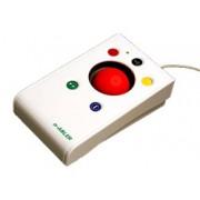 n-Abler Trackball - roter Ball