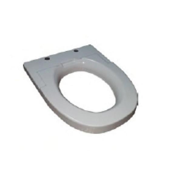 1A Sitzerhöhung normal -  Zusatzoption für WC-Brille und Bidet