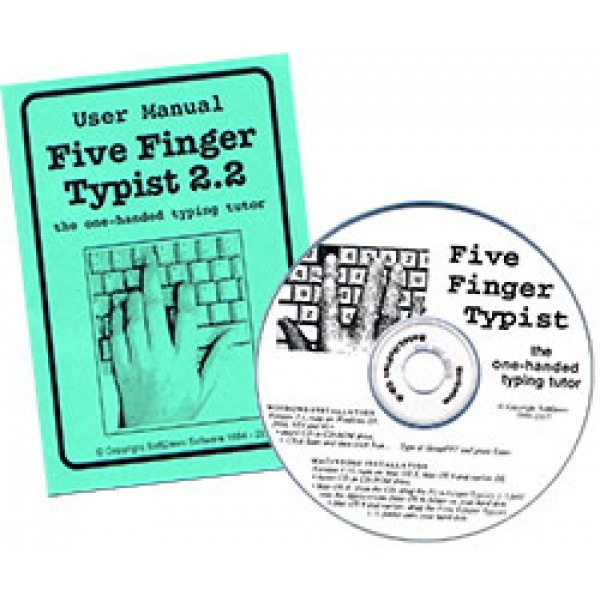 Five Finger Typist DEUTSCH