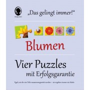 """DAS """"GELINGT IMMER""""-PUZZLE - Blumen"""