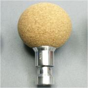 JS-Aufsatz (Typ K35-H) für MP Kugel Kork (35mm Ø), Feder hart